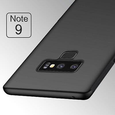 Matting TPU Case For Samsung Galaxy Note 9 2018/Note 8/ S8 S9 Cover Black