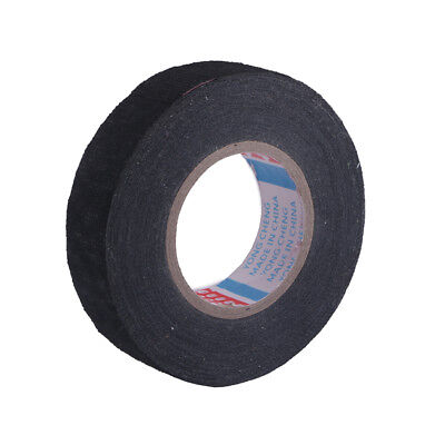 19mm x 15M Cloth Fabric Tape Cable Adhesive Loom Wiring Harness For Auto Car