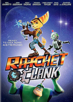 Ratchet & Clank The Movie DVD Only 2016 No Case