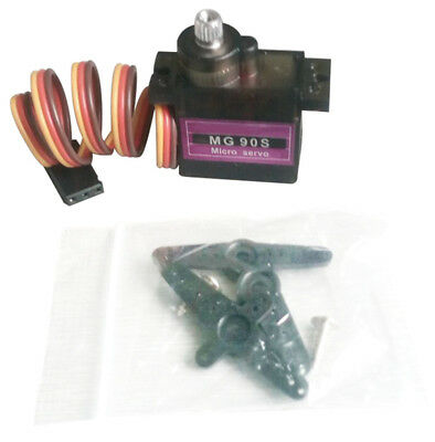 Metal Gear RC Micro Servo 9g MG90S for Trex 450 RC Robot Helicopter 1pcs