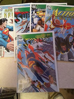 Superman New Krypton Storyline Lot DC Comics 9 Issues total parts 1-6, 8-10