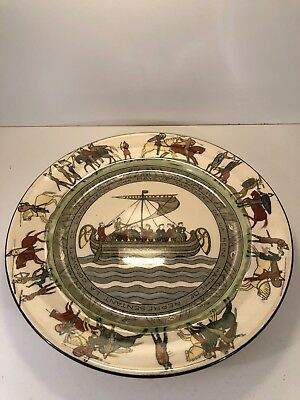 ROYAL DOULTON Series Ware THE BAYEUX TAPESTRY 1066 PLATE 10 1/2""
