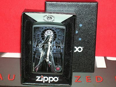 "New Zippo ""anne Stokes Collection - Lady W/blood Chalice "" #28858-Save$$$ Here!"