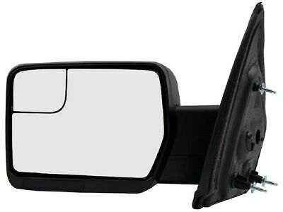 2011 2014 Ford F 150 Left Driver Side View Mirror Glass W Power Oem
