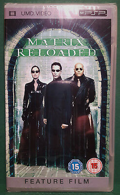 The Matrix Reloaded UMD for PSP Playstation Portable Mint Sealed Condition