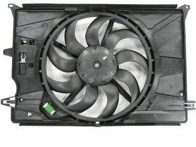 Radiator Fan Assembly Compatible with 2015-2018 Jeep Renegade 2.4L 4-Cylinder