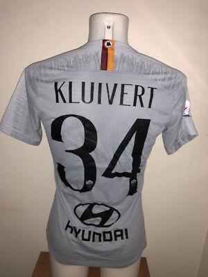 Kluivert As Roma Serie A 2018 Match Worn Issued Shirt Maglia Indossata 361ef7824