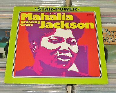 Mahalia Jackson - LP (mint- bis VG+) Amazing Grace / Intercord Star-Power 1976