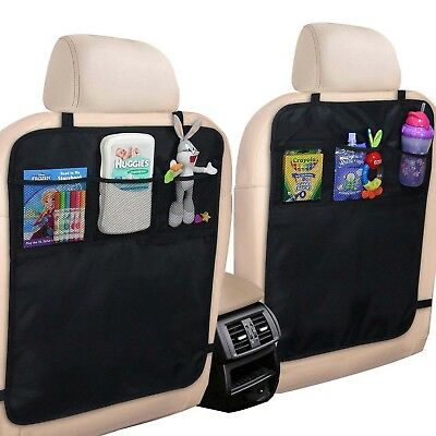 Car Seat Back Protector Cover Case Children Babies Kick Mat Protect FromMud Dir