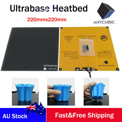 ANYCUBIC 220x220mm Ultrabase & Heatbed 3D Printer's Platform Glass Build Surface