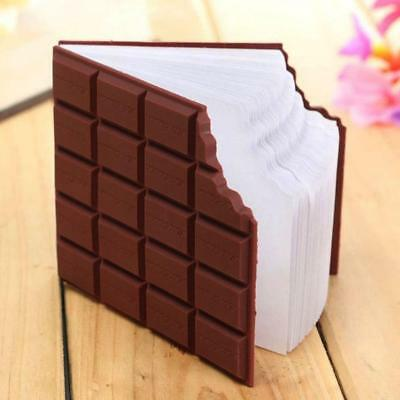 Creative Stationery Memo DIY Gift Chocolate Shaped Notebook Cover Notepad