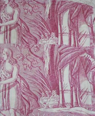 NEW AUTUMN STOCK, BEAUTIFUL 18th/19th CENTURY FRENCH TOILE DE JOUY 120.