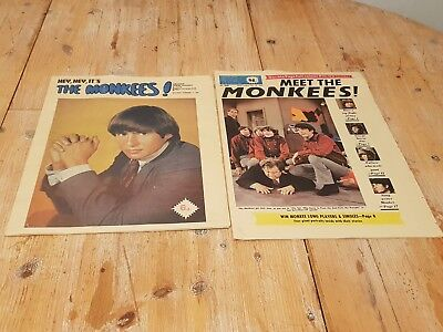 Meets The Monkees & Hey Hey It's The Monkees Newspaper Supplements - 1967
