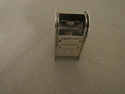 Tiffany & Co 925 Sterling Stamp Mailbox