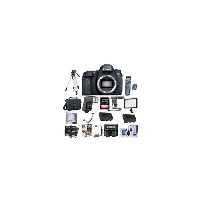 Canon EOS 6D Mark II DSLR Body With Pro Accessory Bundle #1897C002 C