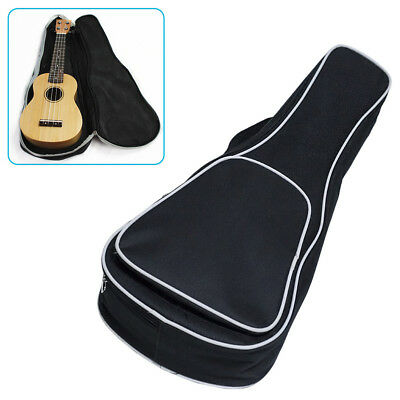 AU 21/23/26inch Ukulele Padded Bag Guitar Bags Case Acoustic Guitar Guitar Parts