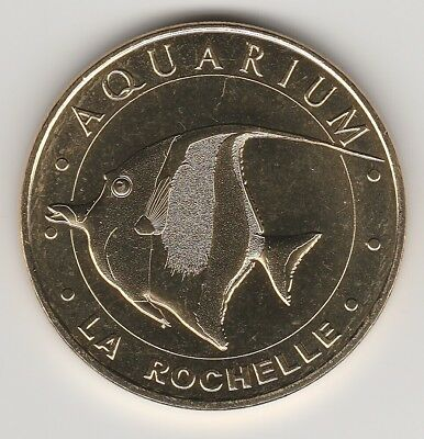 -- 2018 Coin Token Jeton Monnaie De Paris - 17 000 Aquarium La Rochelle Poisson