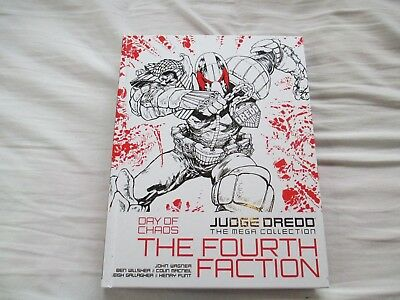 Judge Dredd Day of Chaos: The Fourth Faction Comic Book/ Graphic Novel