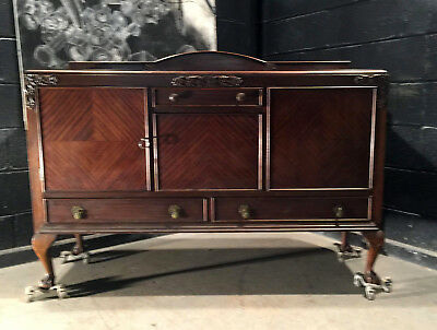 Can Deliver Vintage Antique Retro Antique Style 1920 Sideboard Dresser Chic