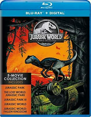 Jurassic World: 5-movie Collection - Blu-Ray Region 1 Free Shipping!