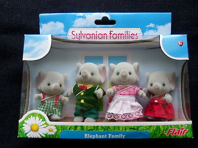 Sylvanian Families Elephant Family Flair New And Unopened