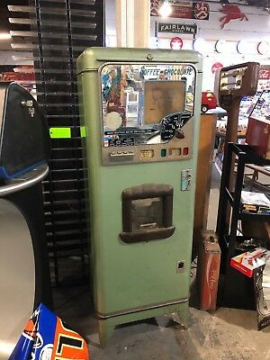 1950s Stoner coin operated coffee machine