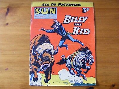 1955 SUN Weekly- Billy the Kid dated Apr 16th 1955, in ok condition - number 323