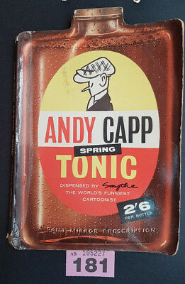 Andy Capp Spring Tonic book, drawings by Reg Smythe (181)