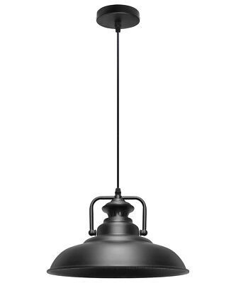 Vintage Industrial Metal Ceiling Pendant Shade Modern Hanging Retro Light M0076
