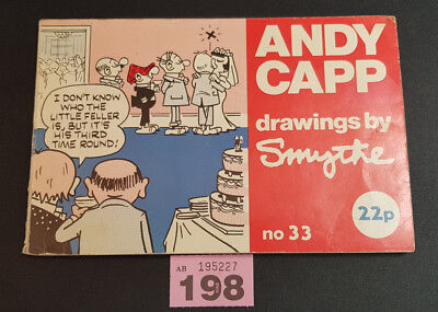 Andy Capp, drawings by Reg Smythe book number 33 1974 (198)