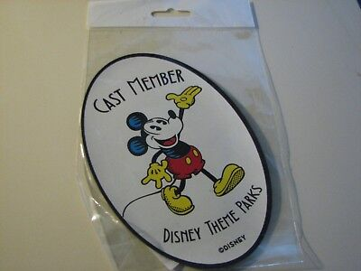 "Disney - Cast Member Exclusive ""Old School""  Mickey Mouse Magnet"