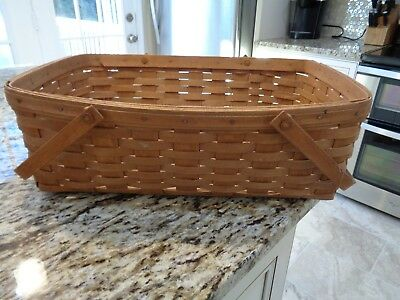 Longaberger Large Gathering Basket-Huge Sizes