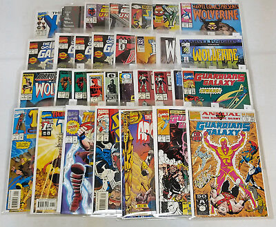 Massive Mixed Publisher Copper Modern Age Comic Book Lot Wolverine Marvel DC