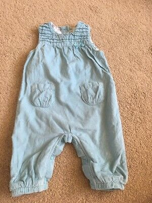 Baby Girls Marks And Spencers Dungarees Age 3-6 Months