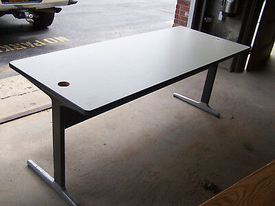 """used""  6' Laminate Top/metal Legs   Utility Table - Pick Up Only! Hp6't2"