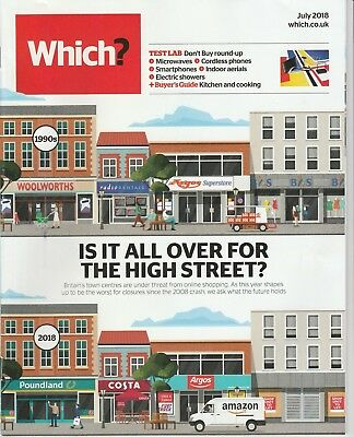 Which? Magazine - July 2018 - High Street Shops