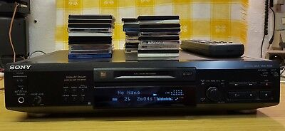 Sony MDS-JE520 + FB + 38 MD's