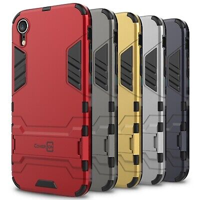 CoverON Shadow Armor For Apple iPhone XR / 10R Case Hard Slim Phone Cover