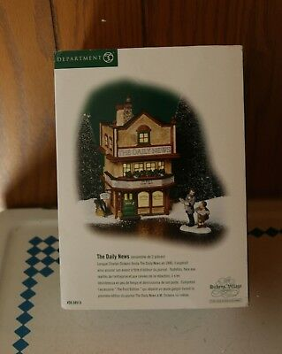 Department 56 Dickens Village The Daily News