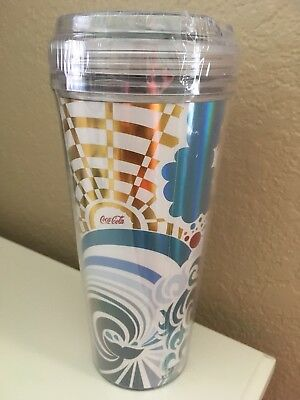 ROYAL CARIBBEAN Cruise COCA-COLA COKE Insulated Travel Cup Tumbler  NEW & SEALED