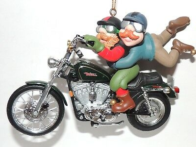 Harley Davidson Three for the Road Christmas Ornament 1997