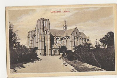 Pakistan, Lahore, Cathedral Postcard, B230
