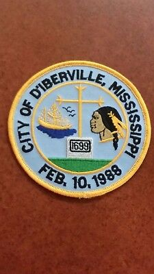 City Of D'iberville, Mississippi Police Shoulder Patch Ms
