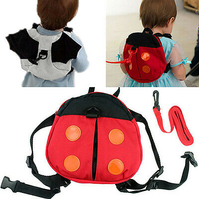 JN_ Stunning Baby Kid Toddler Keeper Walking Safety Harness Backpack Leash Str