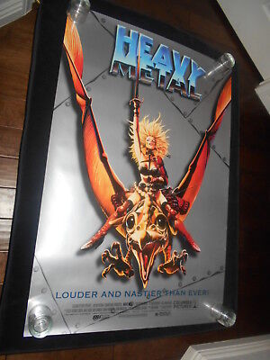 Heavy Metal Cartoon Animation R96  Original Rolled One Sheet Poster