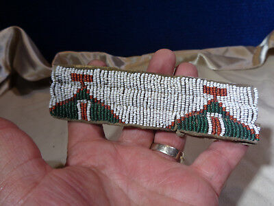 Antique **NATIVE AMERICAN** Beaded Arm Band