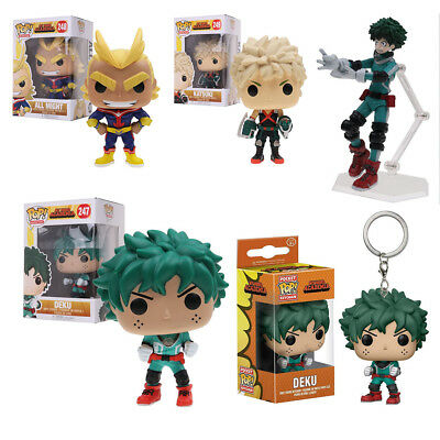 Funko POP! My Hero Academia Deku#247 Katsuki#249 All Might #248 PVC Vinyl Figure