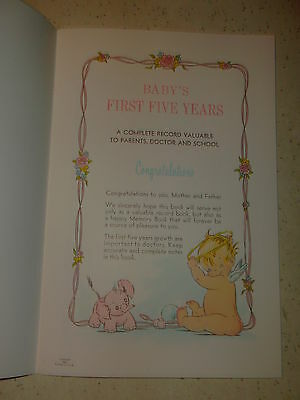 Vintage Baby's Own Book - 16 Paper cover Pages with Envelope