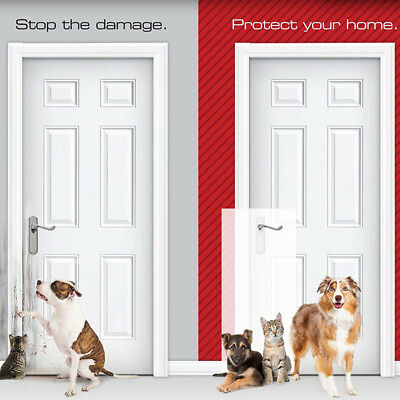 Dog Sticky Self-Adhesive Pet Scratch Protector Door Guard Furniture Shield