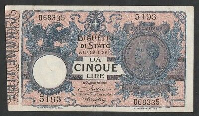 5 Lire From Italy